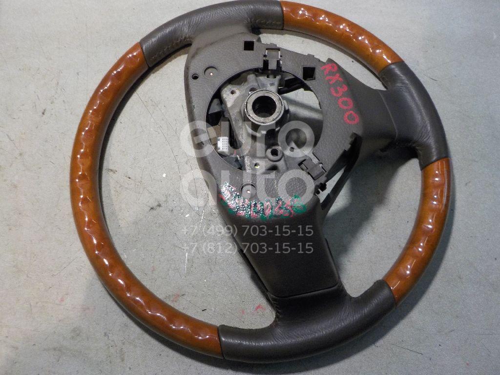 Рулевое колесо для AIR BAG (без AIR BAG) для Lexus RX 300/330/350/400h 2003-2009 - Фото №1