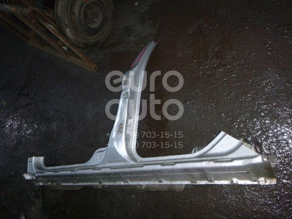 Порог со стойкой левый для Volvo XC70 Cross Country 2000-2006 - Фото №1