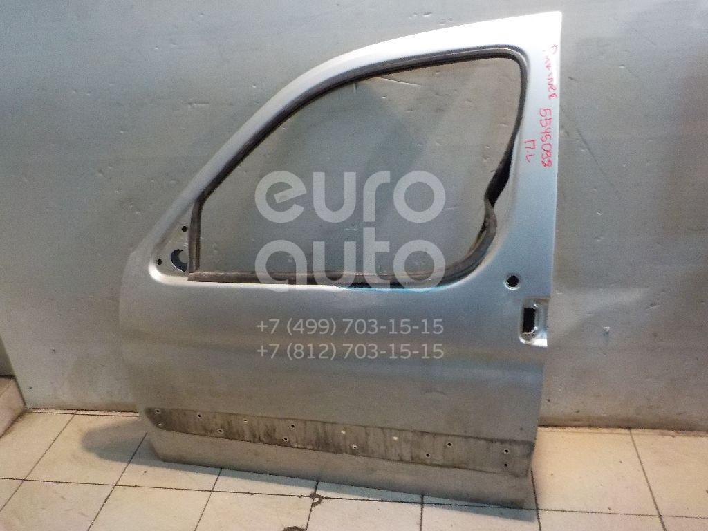 Дверь передняя левая для Peugeot Partner (M59) 2002-2010;Berlingo(FIRST) (M59) 2002-2010 - Фото №1