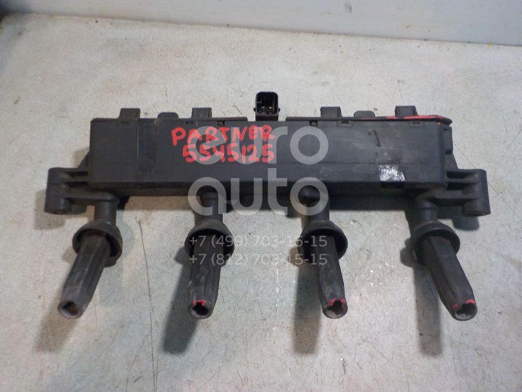 Рампа (кассета) катушек зажигания для Peugeot Partner (M59) 2002-2010;C2 2003>;207 2006>;1007 2005>;206 1998>;C3 2002-2009;Berlingo 1996-2002;Partner 1996-2002 - Фото №1