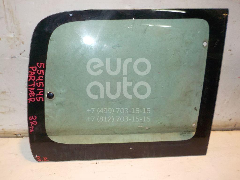 Стекло кузовное открывающееся (форточка) правое для Peugeot,Citroen Partner (M59) 2002-2010;Berlingo(FIRST) (M59) 2002-2012 - Фото №1