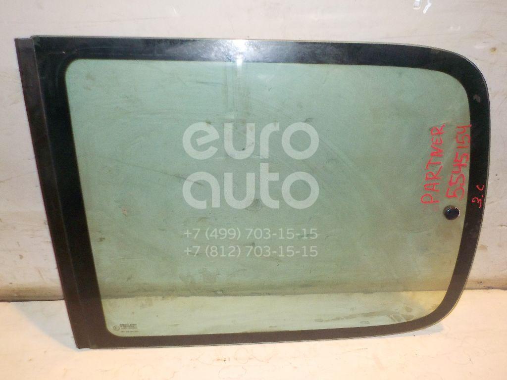 Стекло кузовное открывающееся (форточка) левое для Peugeot,Citroen Partner (M59) 2002-2010;Berlingo(FIRST) (M59) 2002-2012 - Фото №1