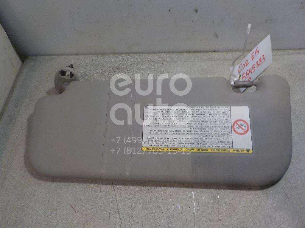 Козырек солнцезащитный (внутри) для Toyota Corolla E15 2006-2013;Auris (E15) 2006-2012 - Фото №1