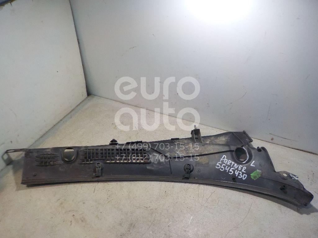 Решетка стеклооч. (планка под лобовое стекло) для Peugeot,Citroen Partner (M59) 2002-2010;Berlingo(FIRST) (M59) 2002-2012 - Фото №1