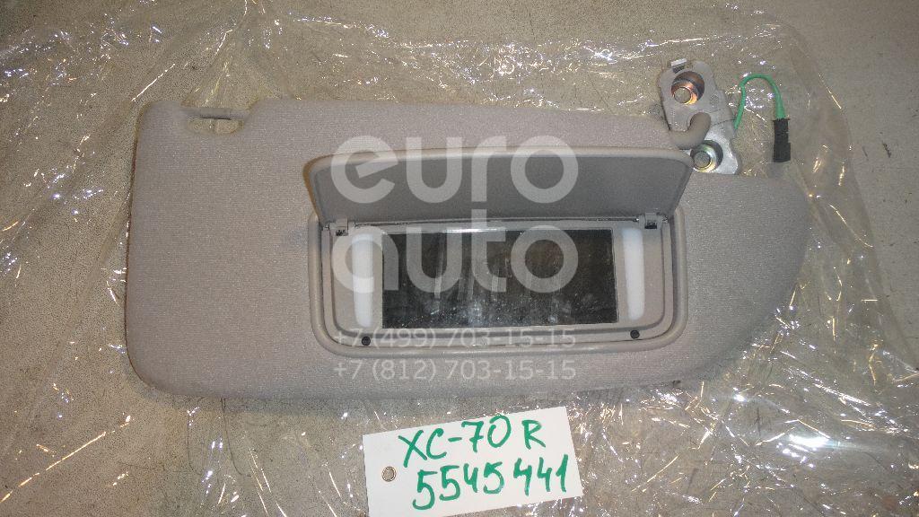 Козырек солнцезащитный (внутри) для Volvo XC70 Cross Country 2000-2006;S60 2000-2009 - Фото №1
