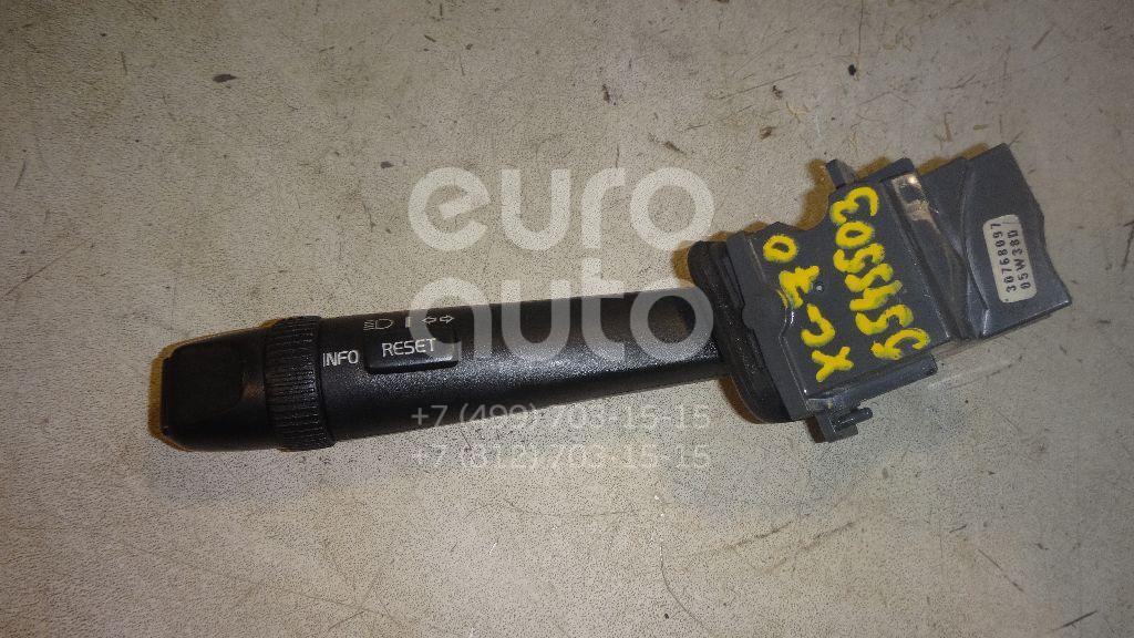 Переключатель поворотов подрулевой для Volvo XC70 Cross Country 2000-2006;XC90 2002-2015;S80 1998-2006;S60 2000-2009 - Фото №1