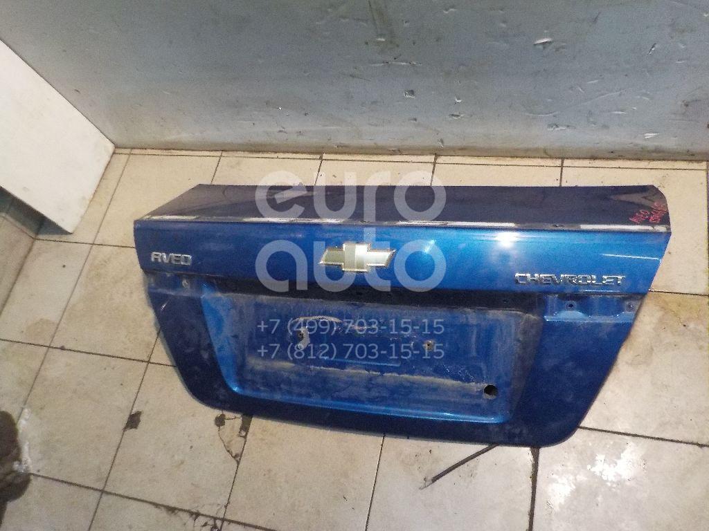 Крышка багажника для Chevrolet Aveo (T250) 2005-2011 - Фото №1