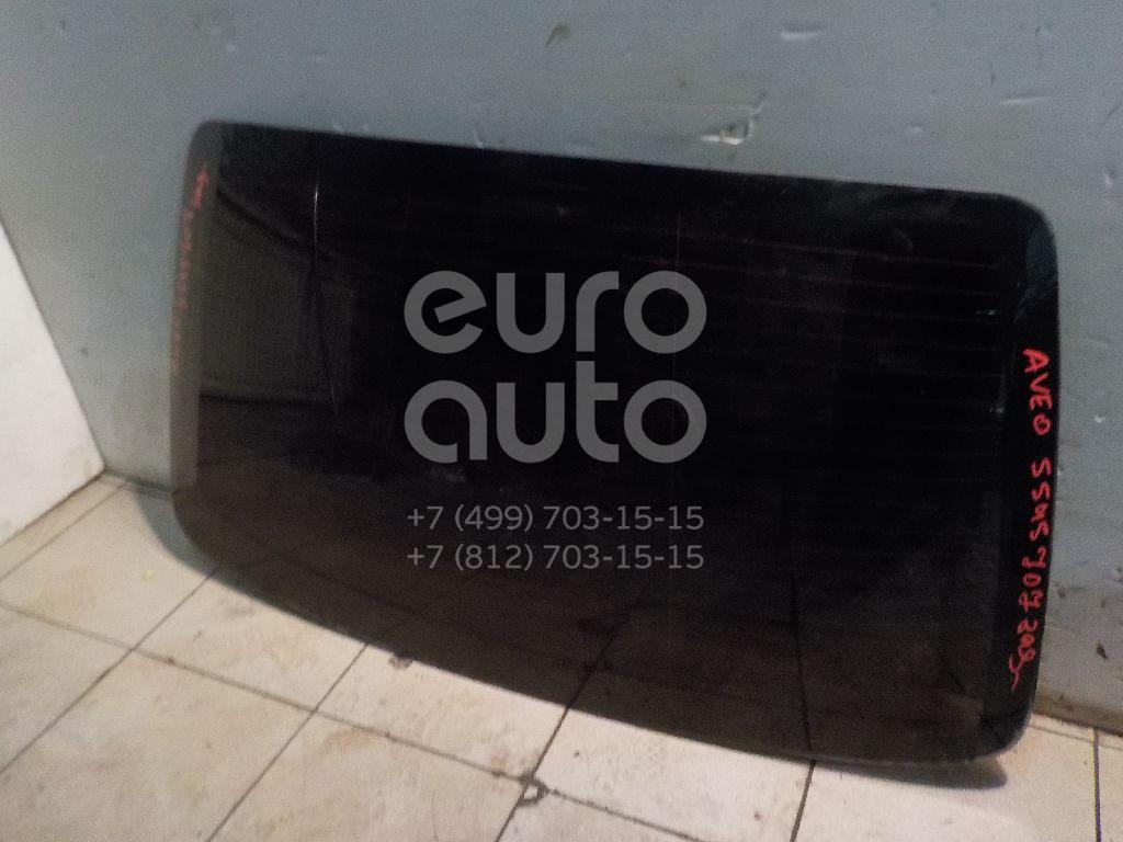 Стекло заднее для Chevrolet Aveo (T250) 2005-2011 - Фото №1