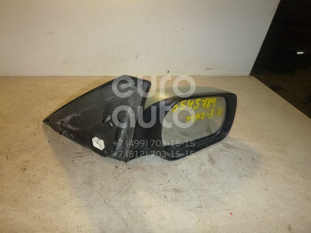 Зеркало правое электрическое для Mazda Mazda 3 (BK) 2002-2009 - Фото №1