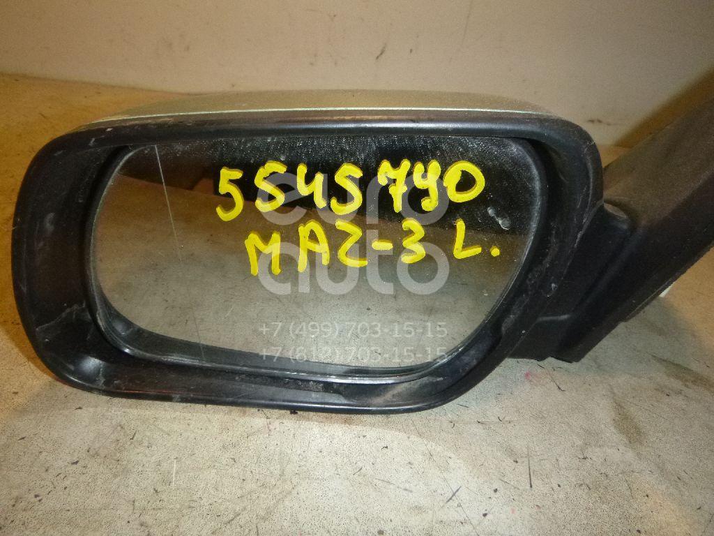 Зеркало левое электрическое для Mazda Mazda 3 (BK) 2002-2009 - Фото №1