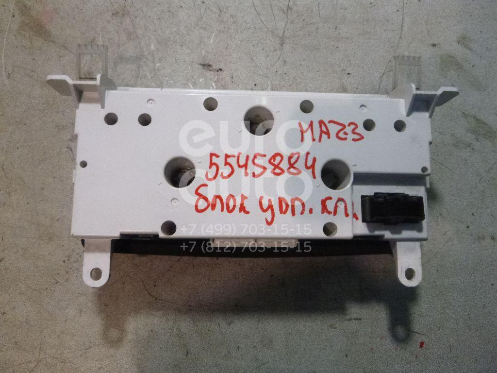 Блок управления климатической установкой для Mazda Mazda 3 (BK) 2002-2009 - Фото №1