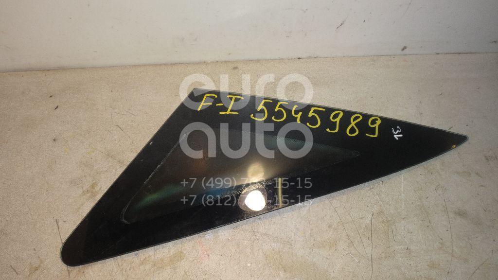 Стекло кузовное глухое левое для Ford Focus I 1998-2004 - Фото №1