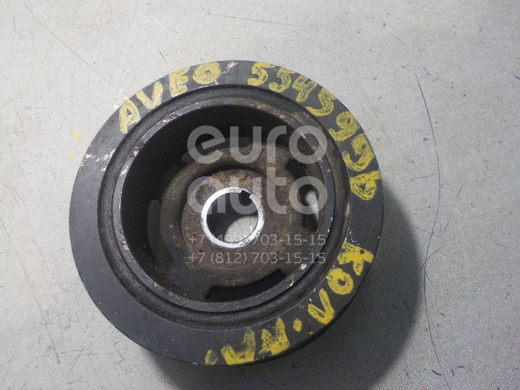 Шкив коленвала для Chevrolet Aveo (T250) 2005-2011 - Фото №1