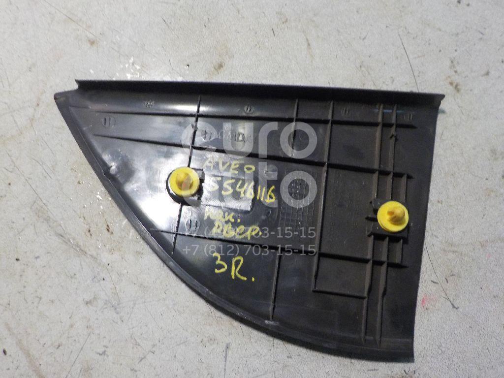 Накладка двери задней правой для Chevrolet Aveo (T250) 2005-2011 - Фото №1