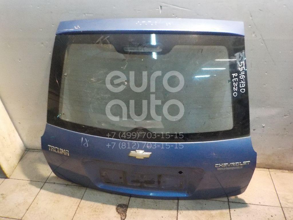 Дверь багажника со стеклом для Chevrolet Rezzo 2003> - Фото №1
