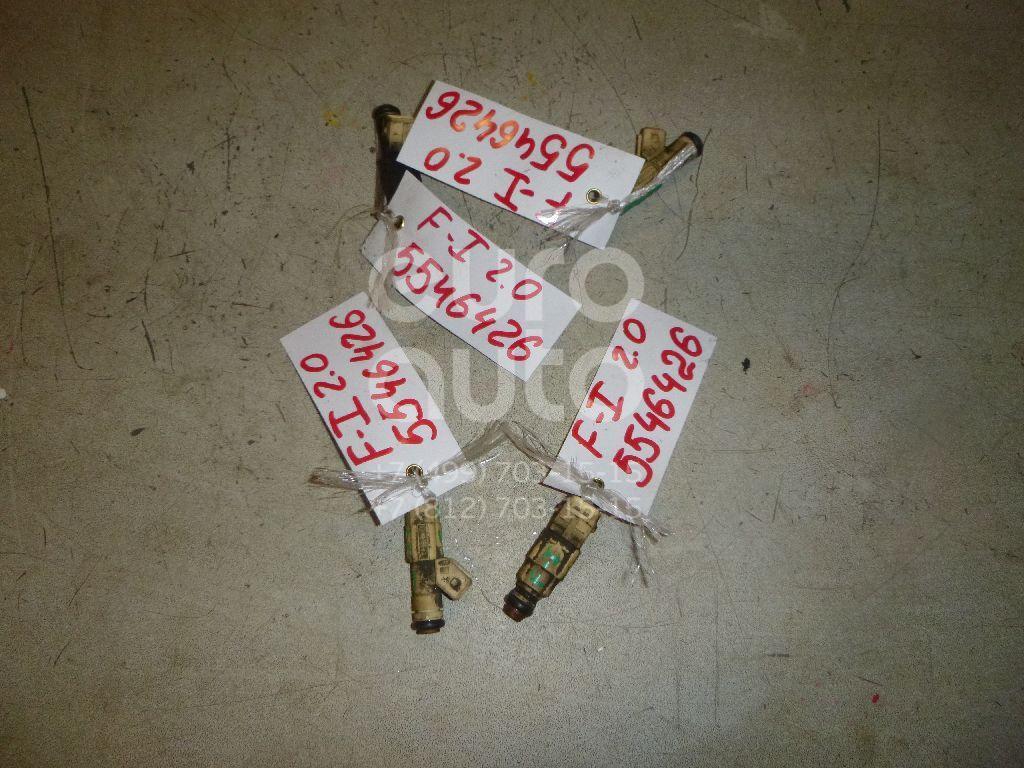 Форсунка инжекторная электрическая для Ford Focus I 1998-2005;Mondeo II 1996-2000;Cougar 1998-2001 - Фото №1