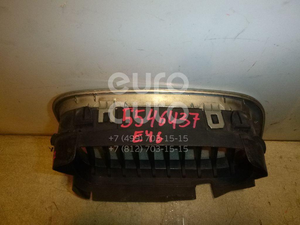 Решетка радиатора левая для BMW 3-серия E46 1998-2005 - Фото №1
