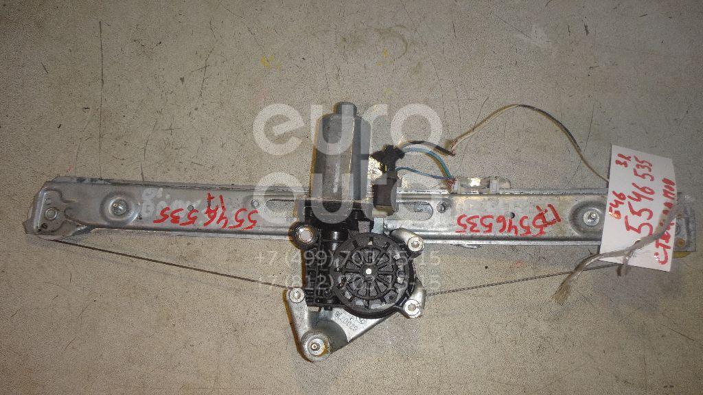 Стеклоподъемник электр. задний правый для BMW 3-серия E46 1998-2005 - Фото №1
