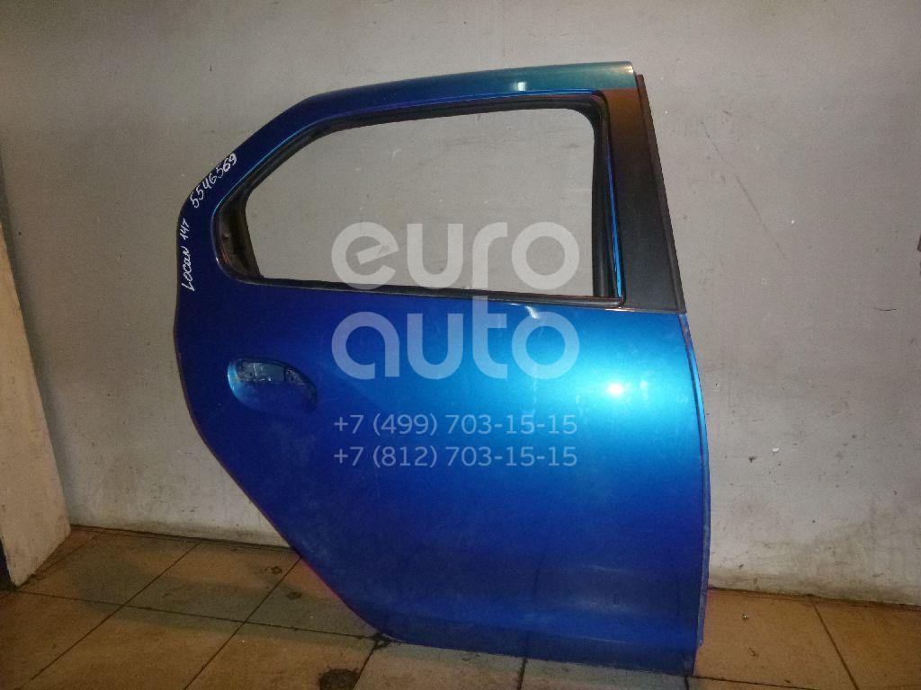 Дверь задняя правая для Renault Logan II 2014> - Фото №1