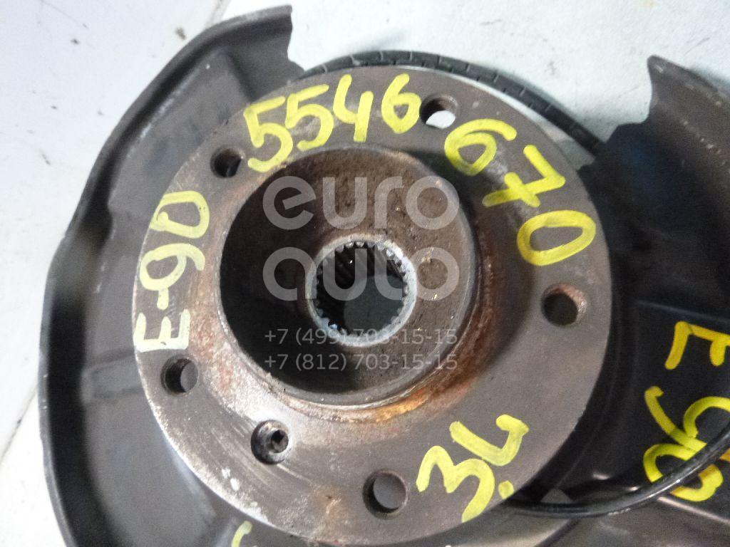 Кулак поворотный задний левый для BMW 3-серия E90/E91 2005-2012;1-серия E87/E81 2004-2011;3-серия E92/E93 2006-2012 - Фото №1