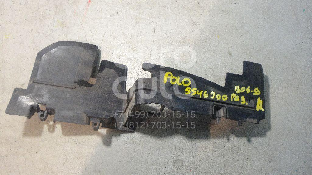 Воздуховод радиатора правый для VW Polo (Sed RUS) 2011> - Фото №1
