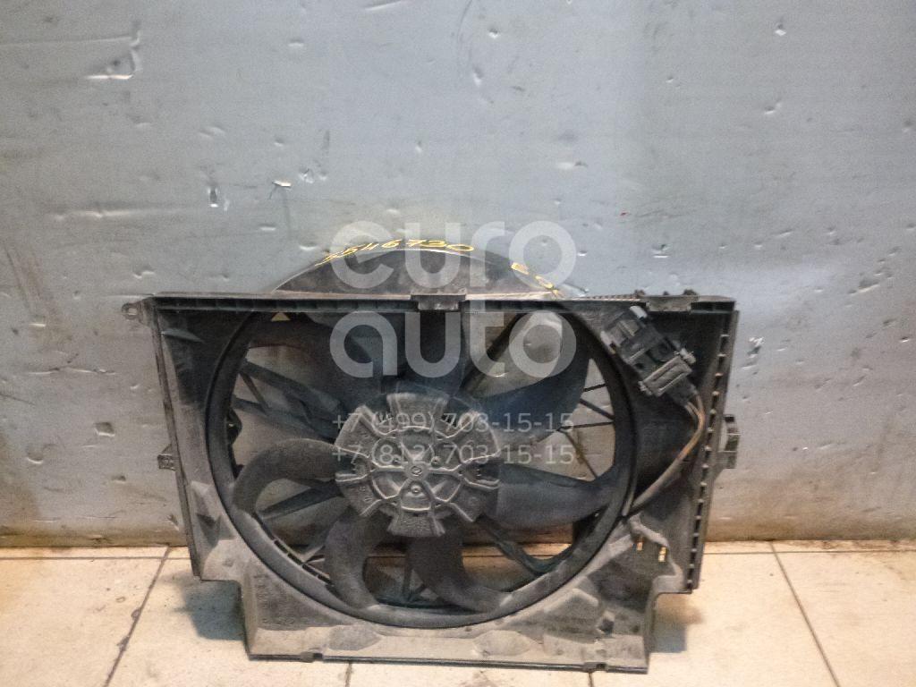 Вентилятор радиатора для BMW 3-серия E90/E91 2005-2012;1-серия E87/E81 2004-2011;3-серия E92/E93 2006-2012;X1 E84 2009-2015 - Фото №1