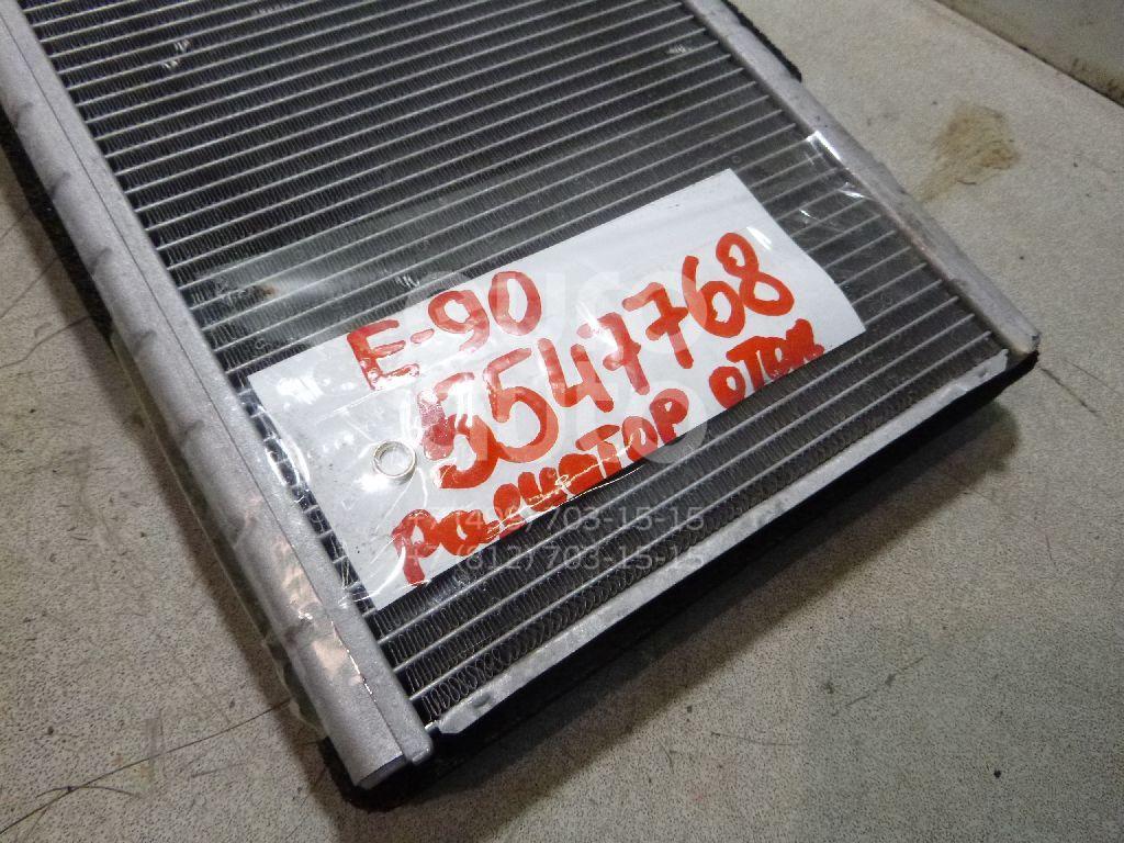 Радиатор отопителя для BMW 3-серия E90/E91 2005-2012;1-серия E87/E81 2004-2011;3-серия E92/E93 2006-2012;X1 E84 2009-2015;1-серия E82/E88 2007-2013 - Фото №1