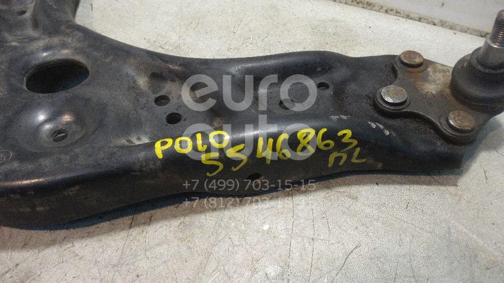 Рычаг передний левый для Skoda Polo (Sed RUS) 2011>;Fabia 1999-2006;Ibiza V 2008>;Fabia 2007-2015;Cordoba 2003-2008;Ibiza IV 2002-2008;Polo (HB) 2009>;A1 2010>;Rapid 2013> - Фото №1