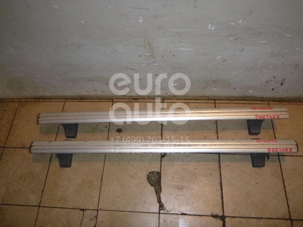 К-кт рейлингов (планки на крышу) для Peugeot Partner (M59) 2002-2012 - Фото №1