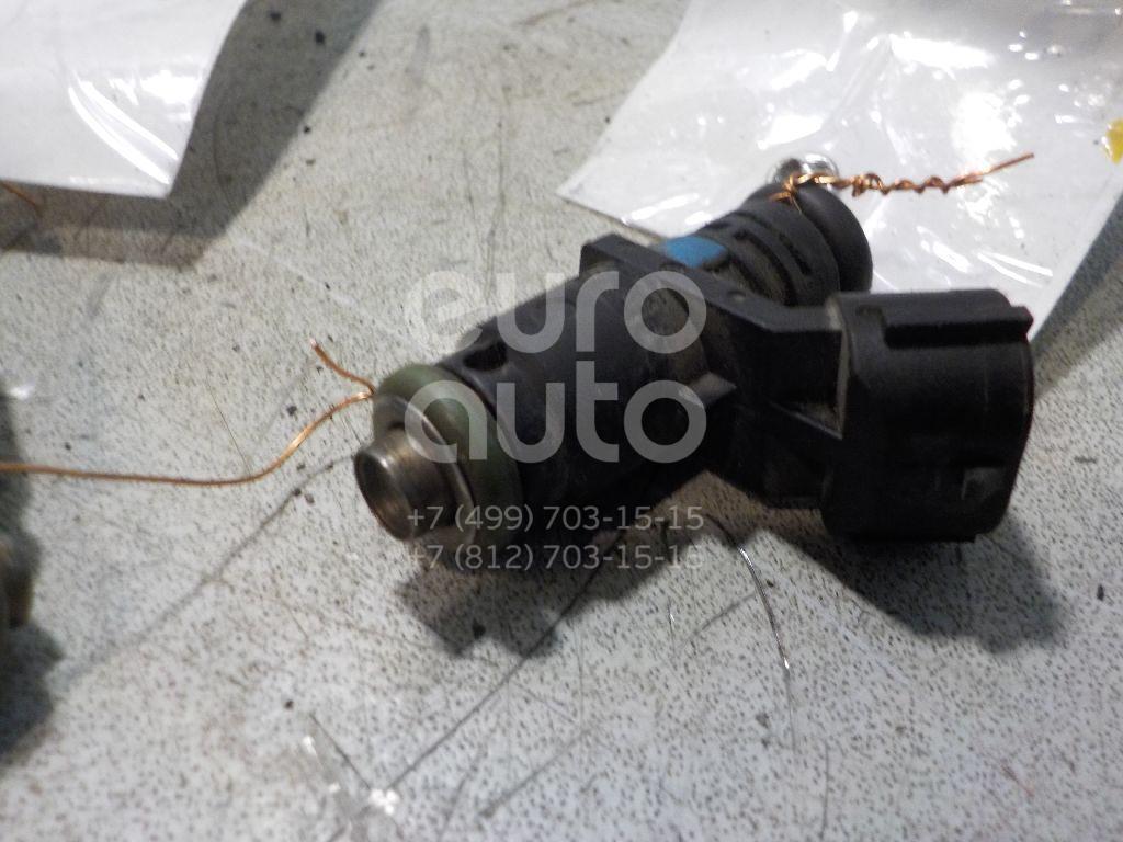Форсунка инжекторная электрическая для VW,Skoda Polo (Sed RUS) 2011>;Fabia 2007-2015;Roomster 2006-2015;Jetta 2011>;Rapid 2013> - Фото №1