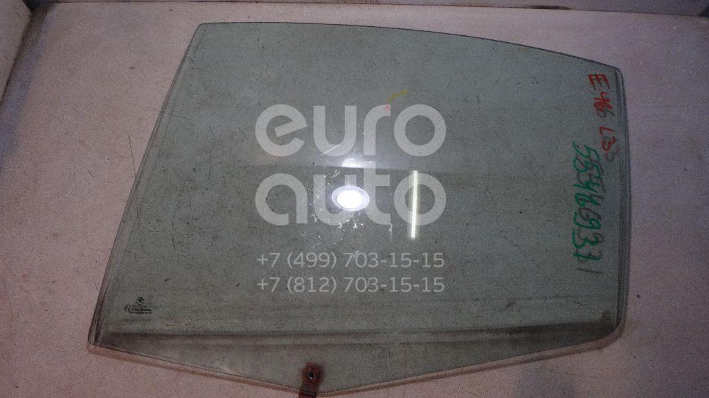 Стекло двери задней левой для BMW 3-серия E46 1998-2005 - Фото №1