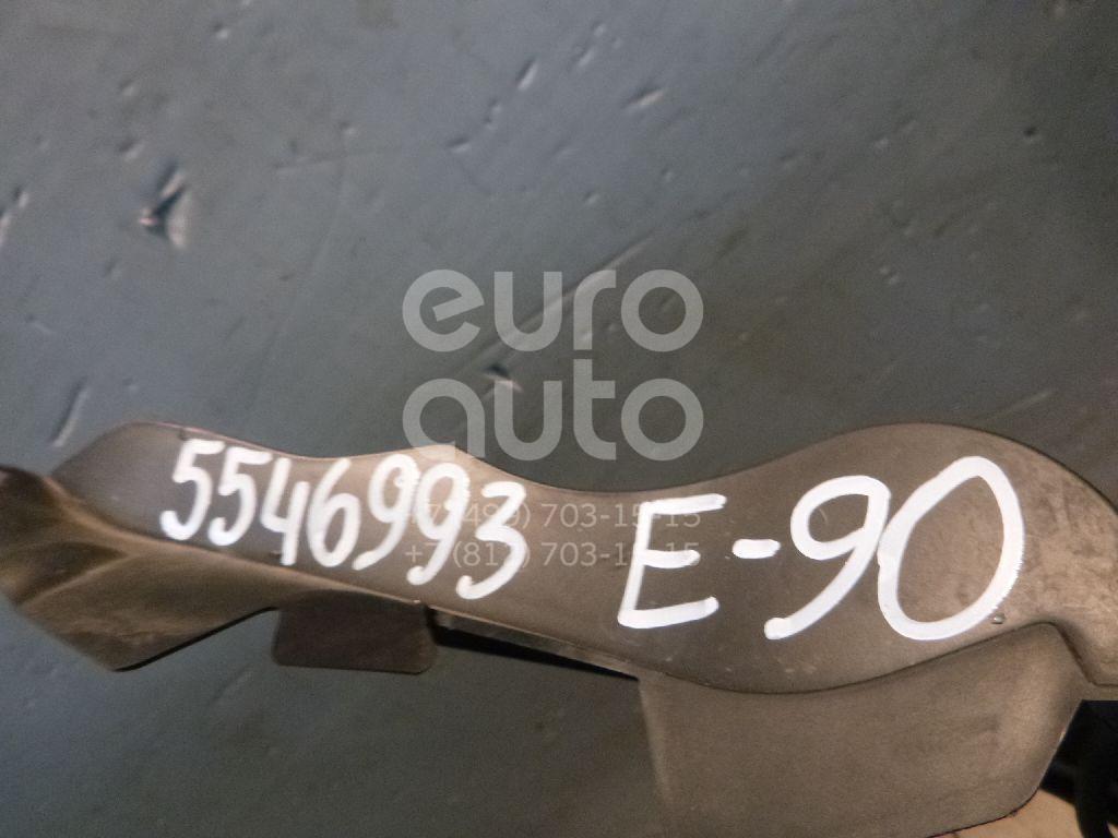 Решетка стеклооч. (планка под лобовое стекло) для BMW 3-серия E90/E91 2005-2012 - Фото №1