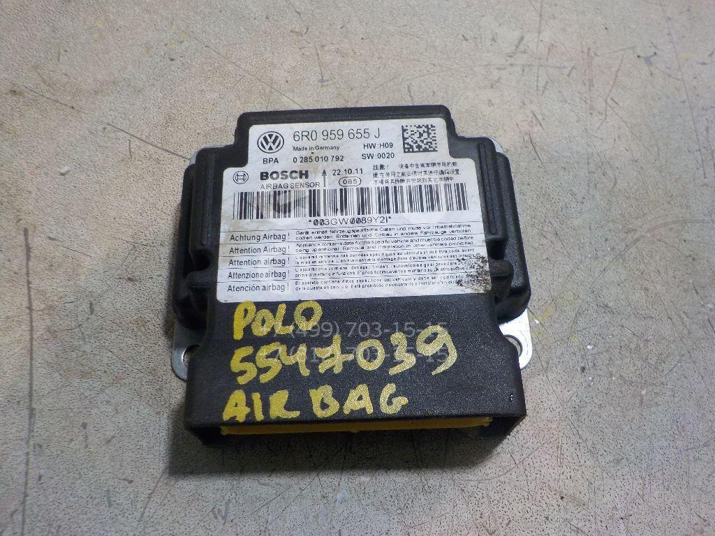 Блок управления AIR BAG для VW Polo (Sed RUS) 2011>;Fabia 2007-2015;Roomster 2006> - Фото №1