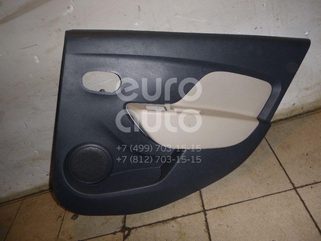 Обшивка двери задней правой для Renault Logan II 2014> - Фото №1