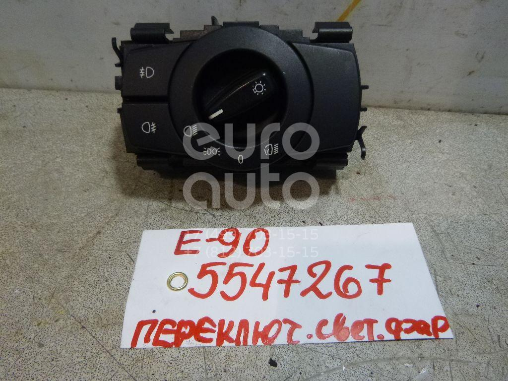 Переключатель света фар для BMW 3-серия E90/E91 2005-2012;1-серия E87/E81 2004-2011;X1 E84 2009-2015;1-серия E82/E88 2007-2013 - Фото №1