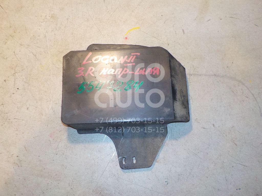 Направляющая заднего бампера правая для Renault Logan II 2014> - Фото №1