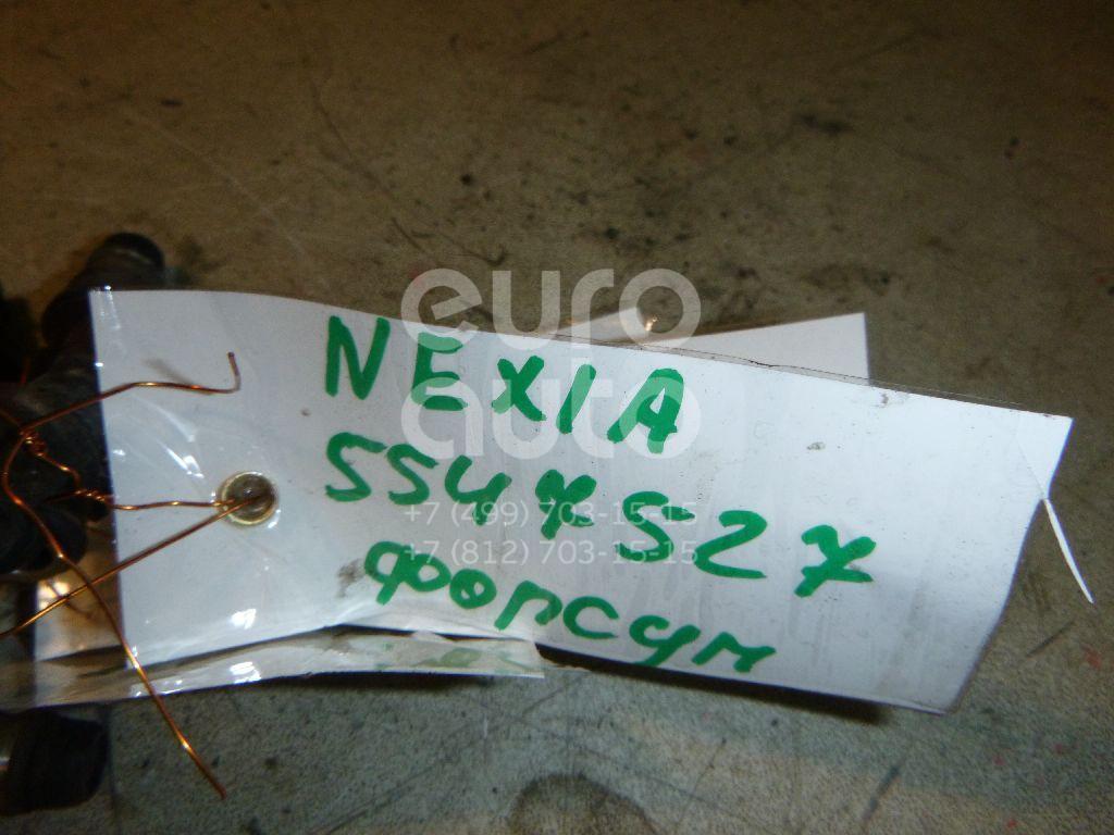 Форсунка инжекторная электрическая для Daewoo Nexia 1995>;Aveo (T200) 2003-2008;Lacetti 2003>;Evanda 2004>;Lanos 2004>;Rezzo 2003>;Rezzo 2000> - Фото №1