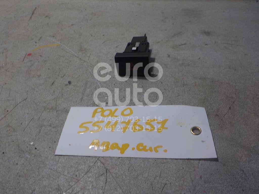 Кнопка аварийной сигнализации для VW Polo (Sed RUS) 2011>;Polo (HB) 2009> - Фото №1