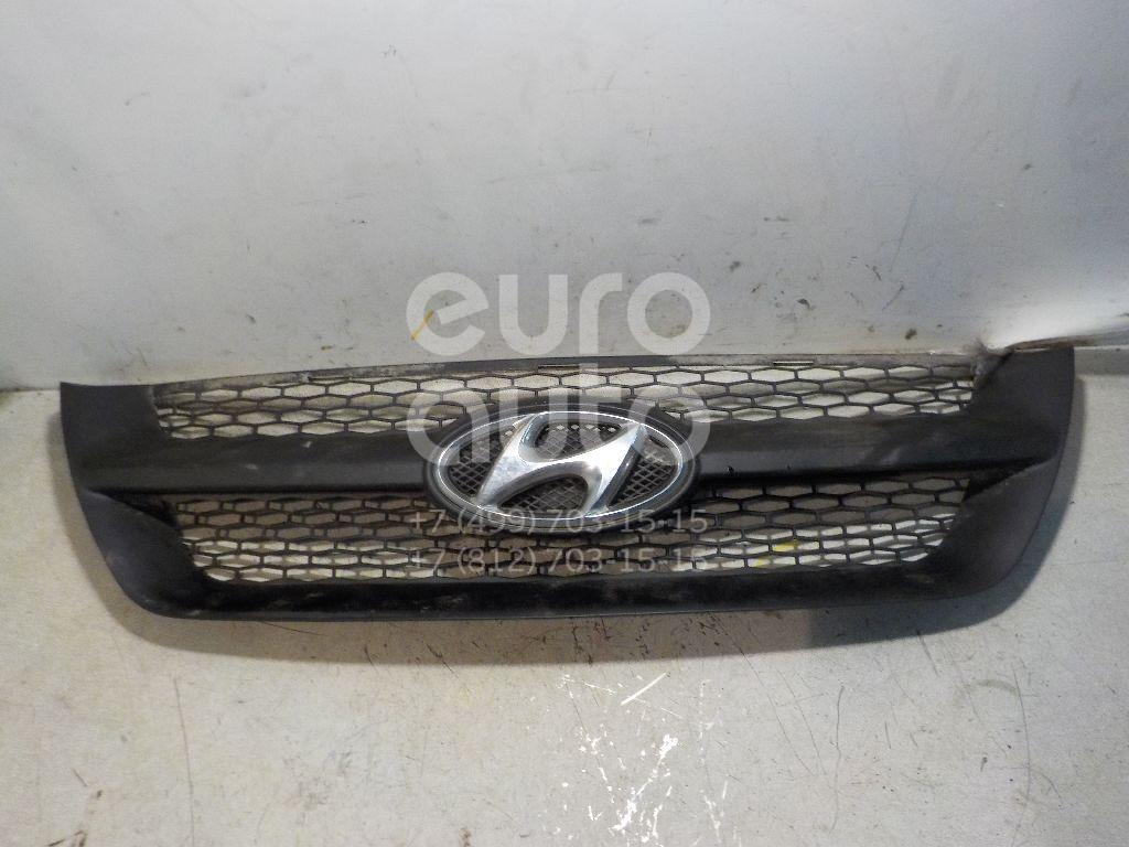 Решетка радиатора для Hyundai Sonata V (NF) 2005-2010 - Фото №1
