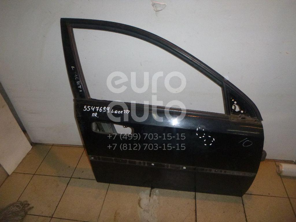 Дверь передняя правая для Chevrolet Lacetti 2003>;Nubira 1997> - Фото №1