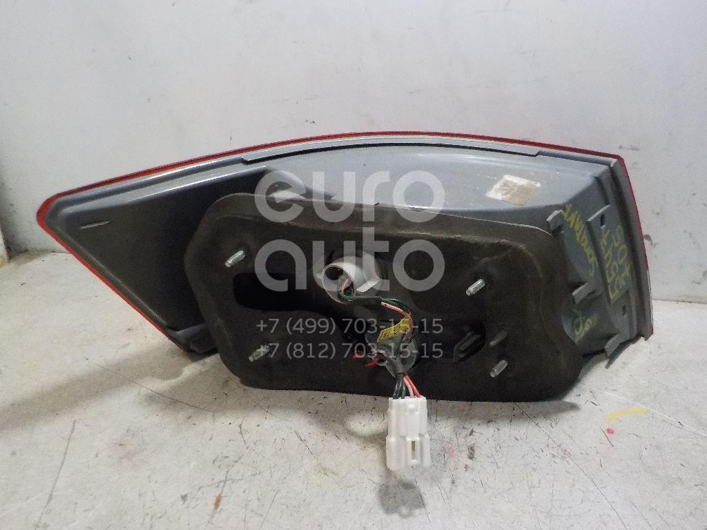 Фонарь задний наружный правый для Hyundai Sonata V (NF) 2005-2010 - Фото №1