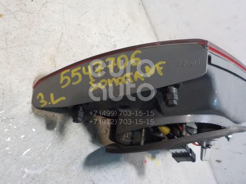 Фонарь задний внутренний левый для Hyundai Sonata V (NF) 2005-2010 - Фото №1