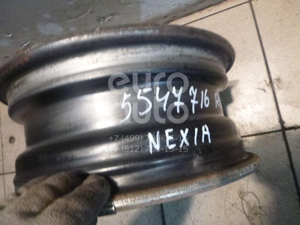 Диск колесный железо для Daewoo Nexia 1995>;Nubira 1997>;Nubira 1999-2003 - Фото №1