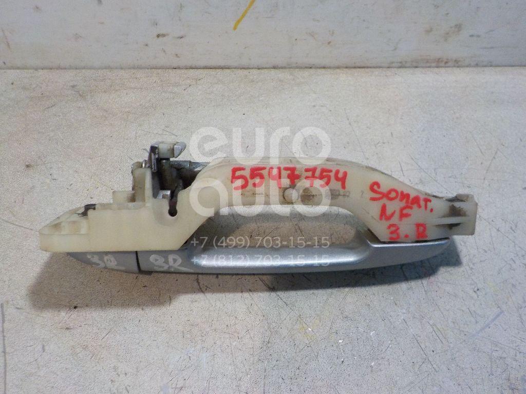 Ручка двери задней наружная правая для Hyundai Sonata V (NF) 2005-2010 - Фото №1