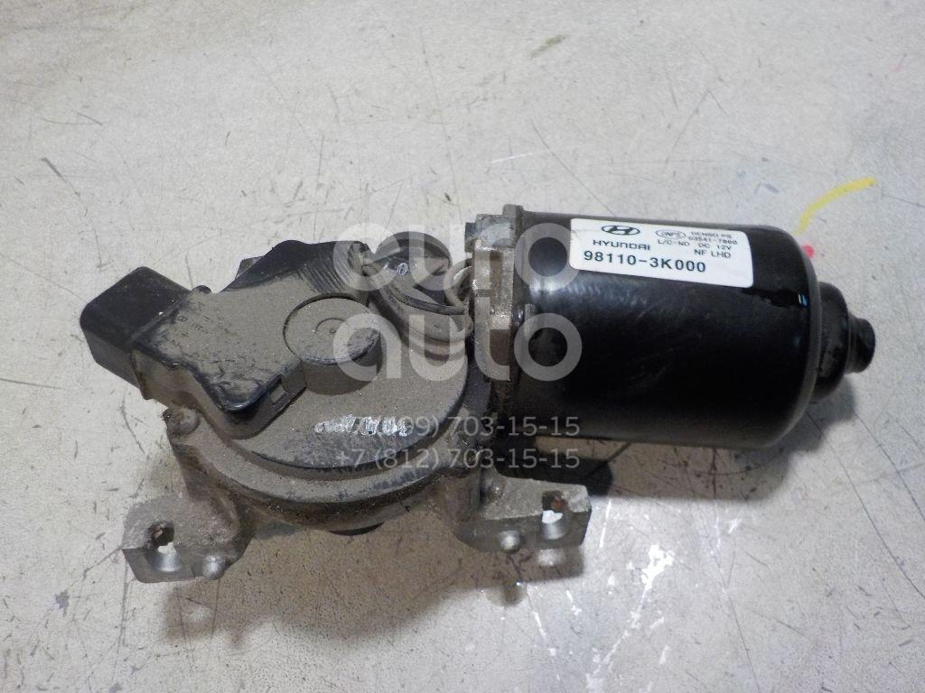 Моторчик стеклоочистителя передний для Hyundai Sonata V (NF) 2005-2010 - Фото №1