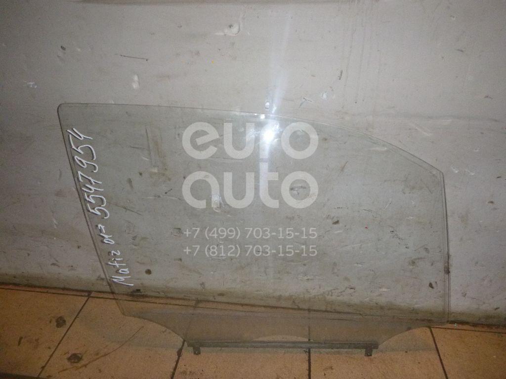 Стекло двери передней правой для Daewoo Matiz 2001>;Matiz (KLYA) 1998> - Фото №1