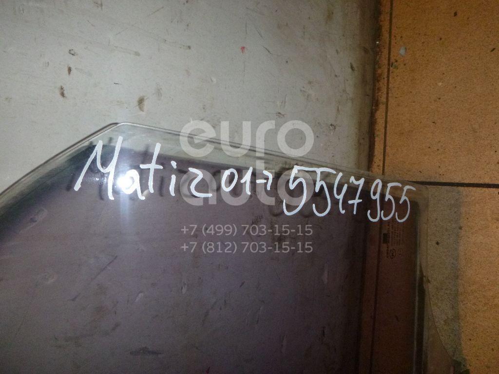 Стекло двери задней левой для Daewoo Matiz 2001>;Matiz (KLYA) 1998> - Фото №1