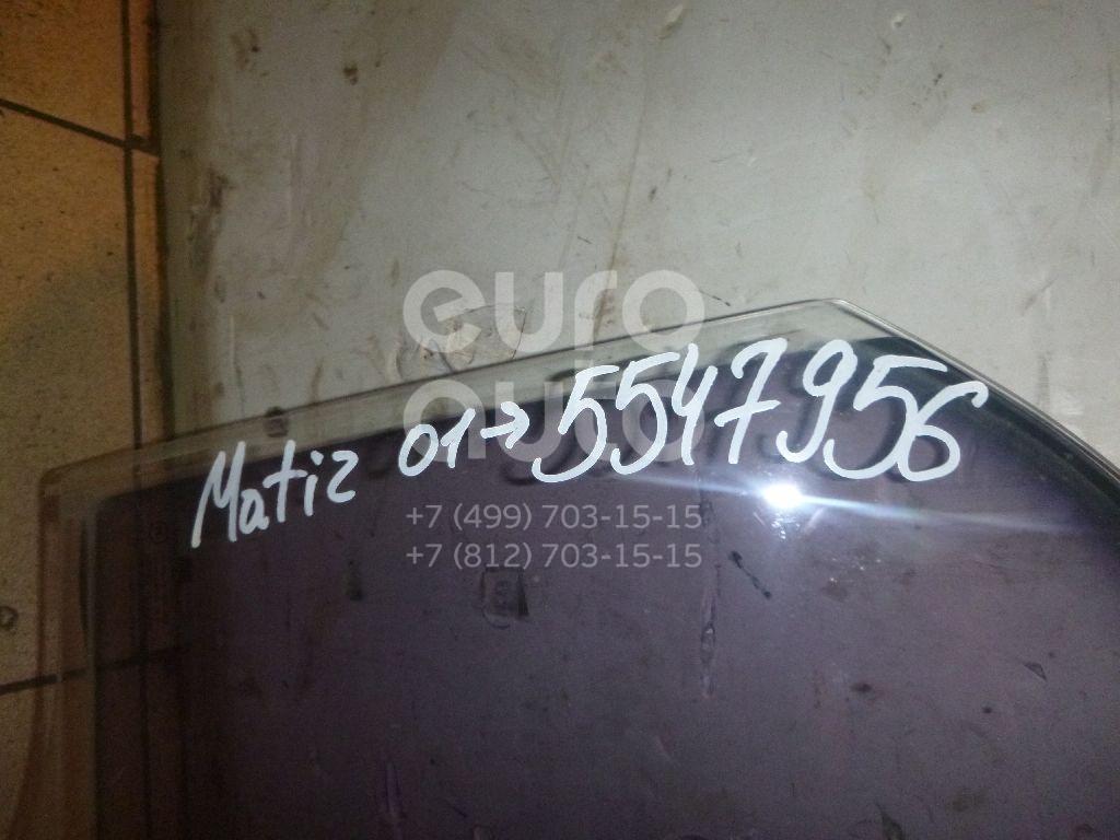 Стекло двери задней правой для Daewoo Matiz 2001>;Matiz (KLYA) 1998> - Фото №1