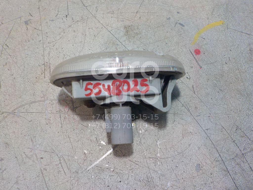 Повторитель на крыло белый для Hyundai,Kia Sonata V (NF) 2005-2010;Carens 2006-2012 - Фото №1