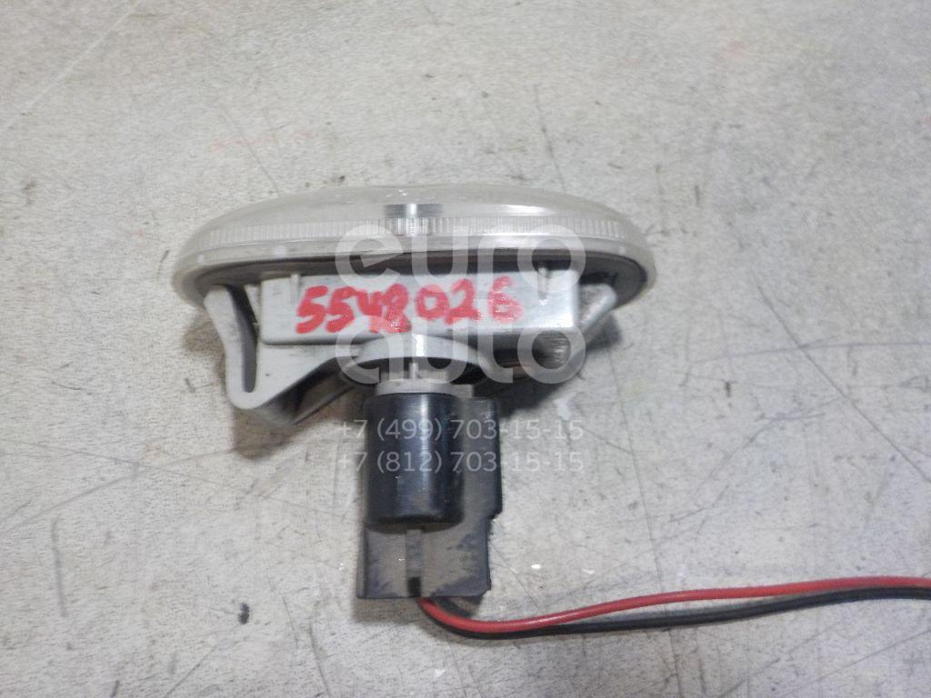 Повторитель на крыло белый для Hyundai,Kia Sonata V (NF) 2005-2010;Santa Fe (CM) 2006-2012;Magentis 2005-2010;Carens 2006-2012 - Фото №1